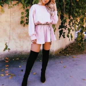 Nasty Gal // Bad News Over-the-Knee Boot